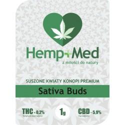 Sativa Buds Susz CBD 1g