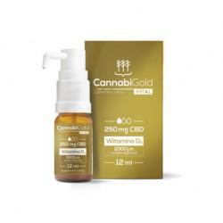 CANNABIGOLD VITAL – CBD+D3